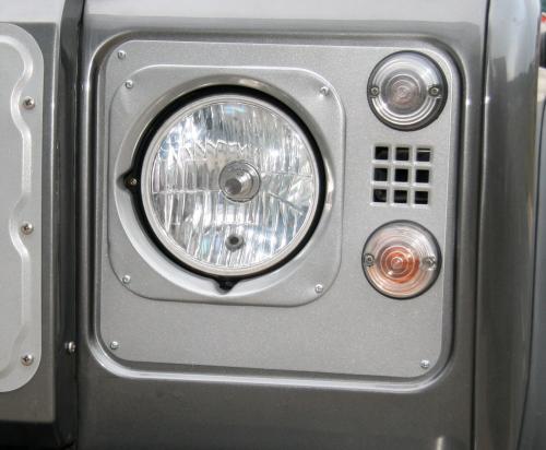 4x4 Outdoor Tuning Headlight Edging Aluminium Heritage