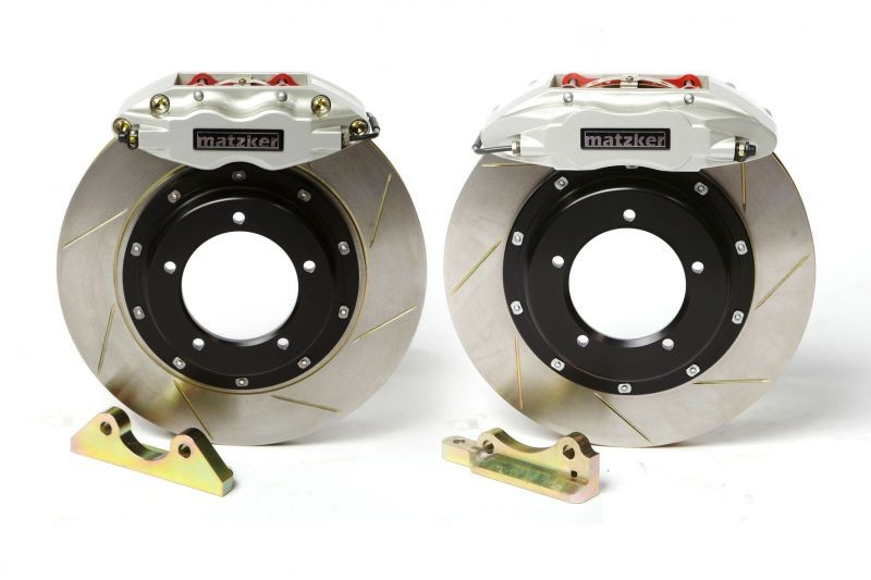 High performance brake system for Land Rover Defender front and rear axle
