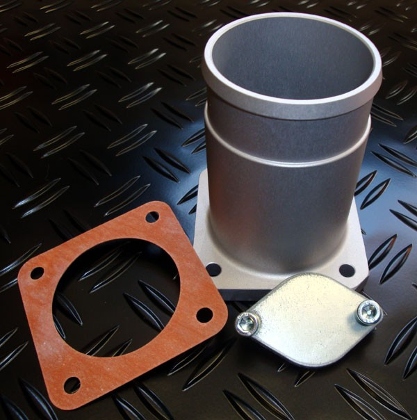 4x4 Outdoor Tuning :: EGR Blank Plate + Pipe, Discovery 2,Td5