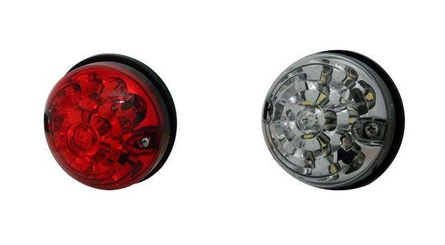 LED rear light / brake light WHITE or RED for Land Rover Defender