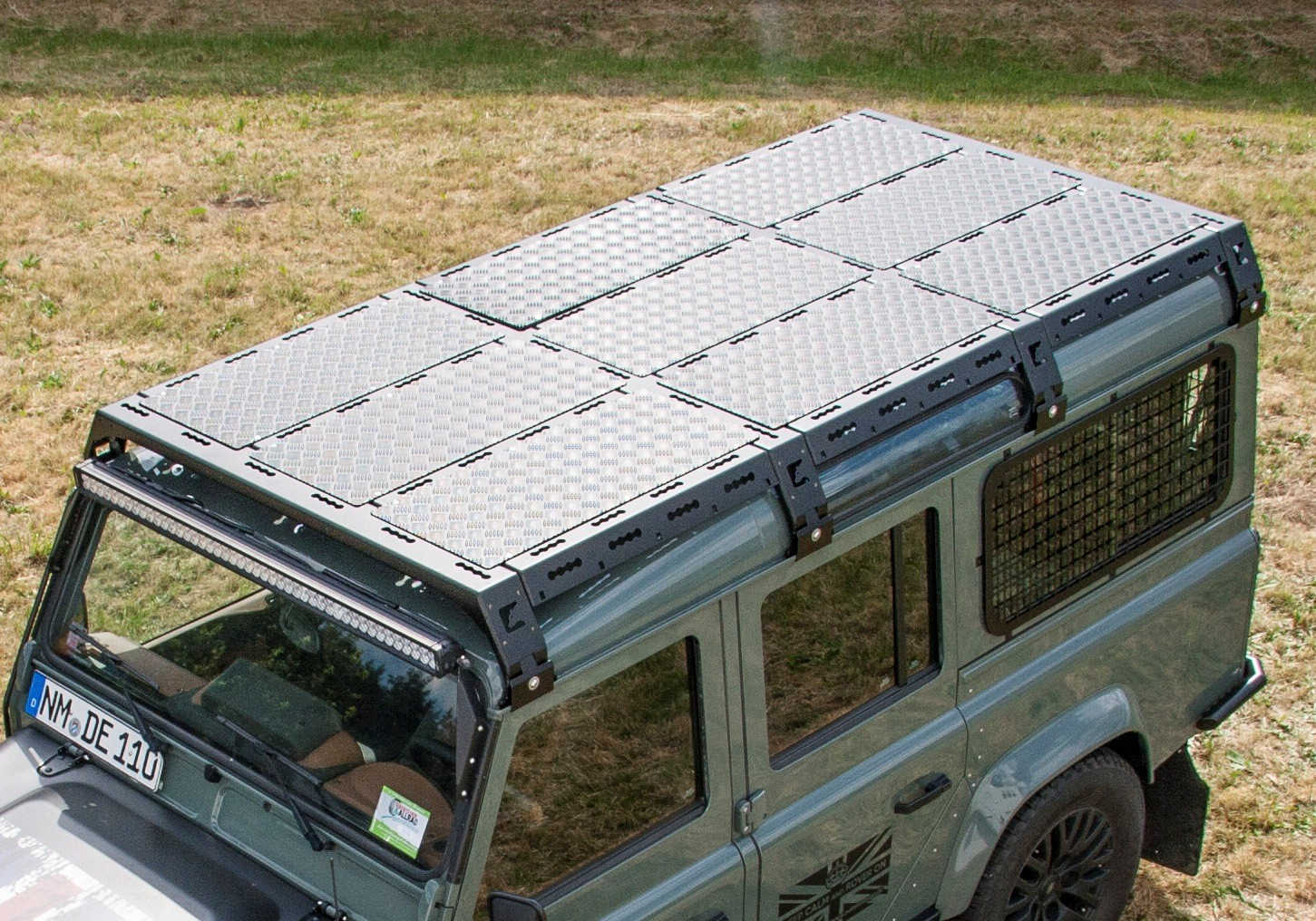 4x4 outdoor tuning cargobear modular roof rack for for Prefabricated roof