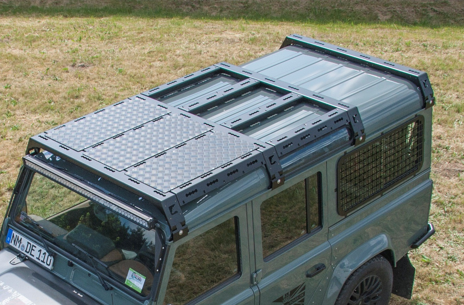 4x4 outdoor tuning cargobear modular roof rack for for Prefab roof