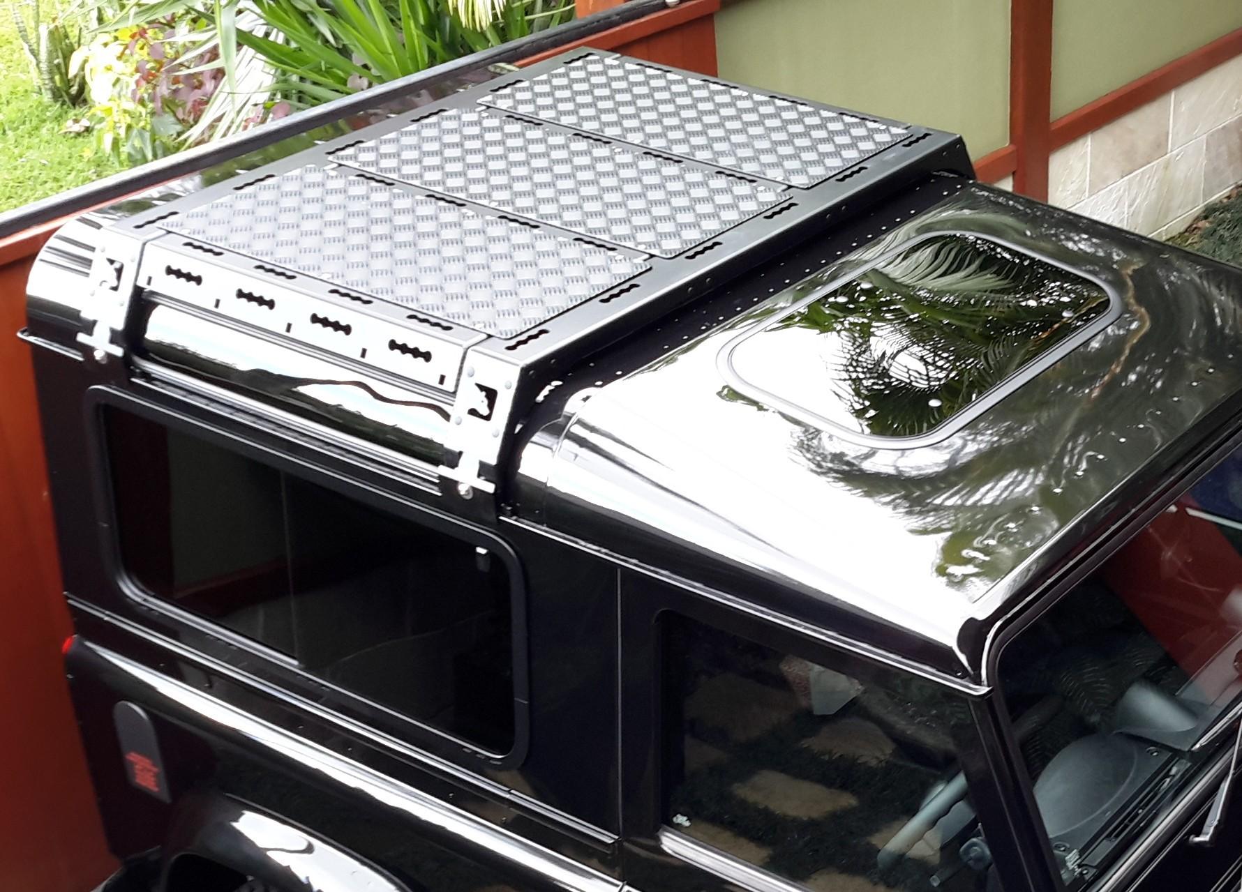 CargoBear modular roof rack for Defender 90/110/130 - short 1005mm