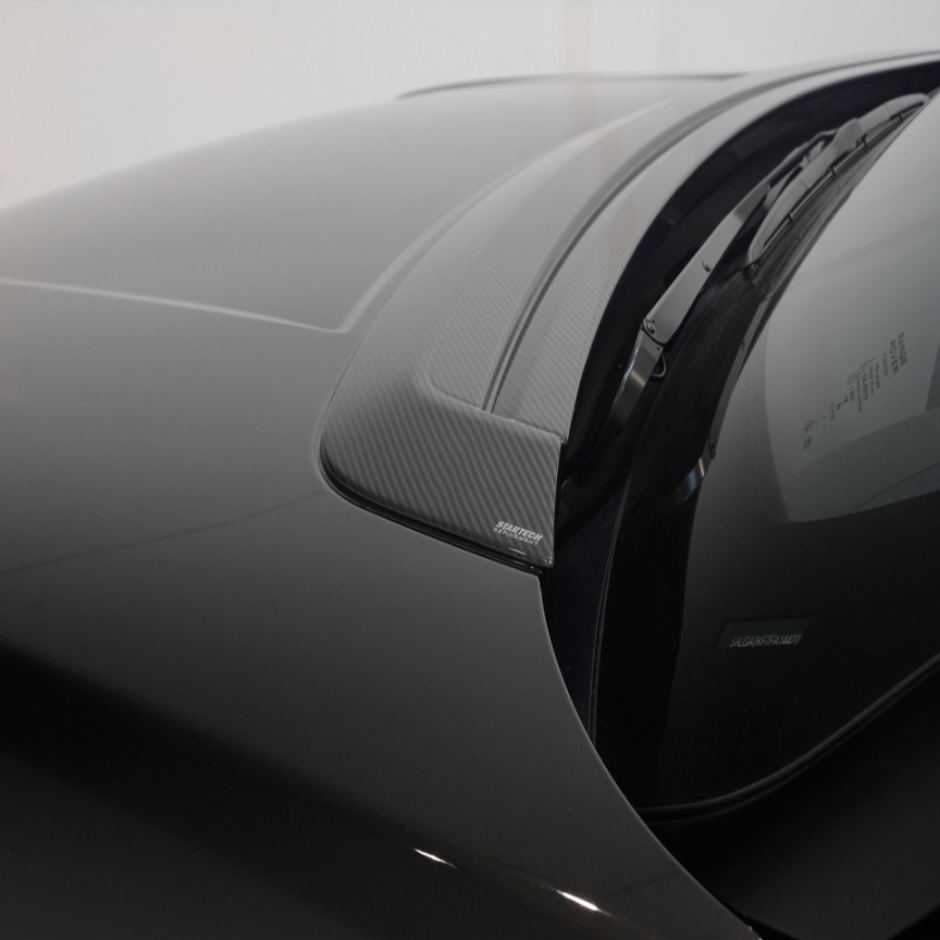STARTECH Carbon bonnet panel cover, high-gloss finish for Range Rover from 2013