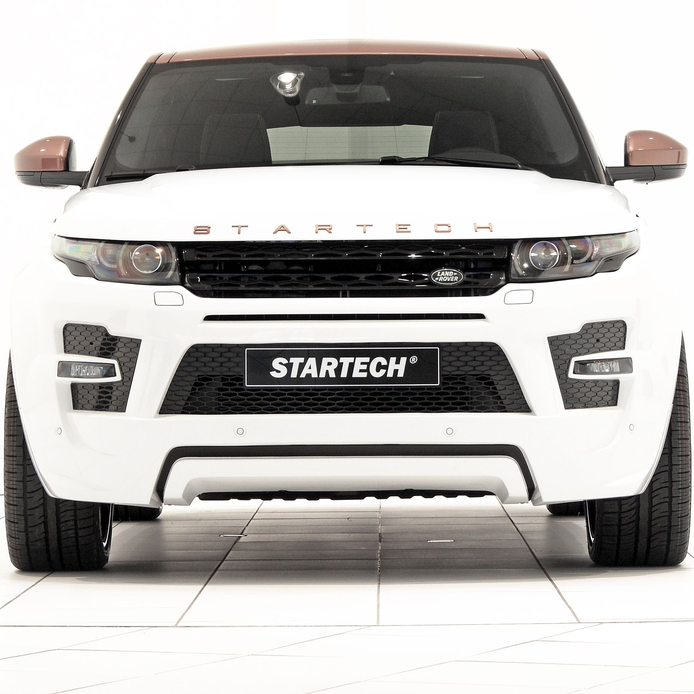 Front bumper, PUR R-RIM, for all Evoque models