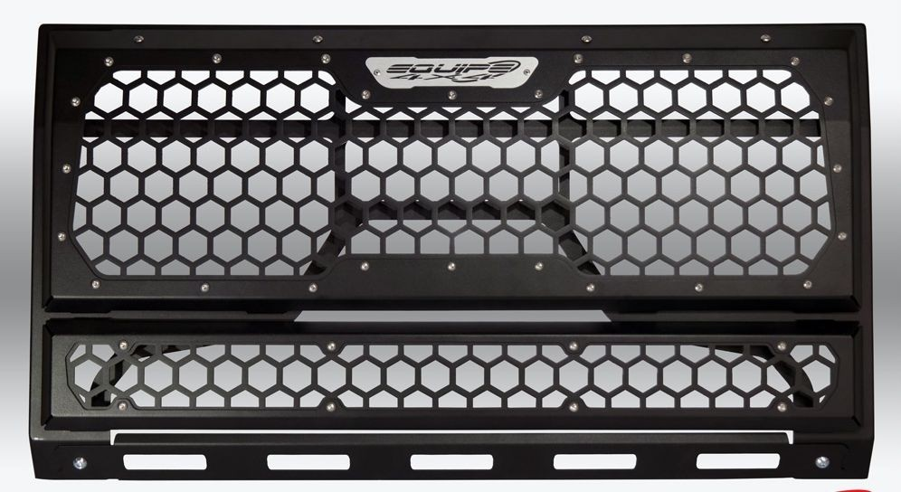 Full Frame honeycomb front grille for Land Rover Defender