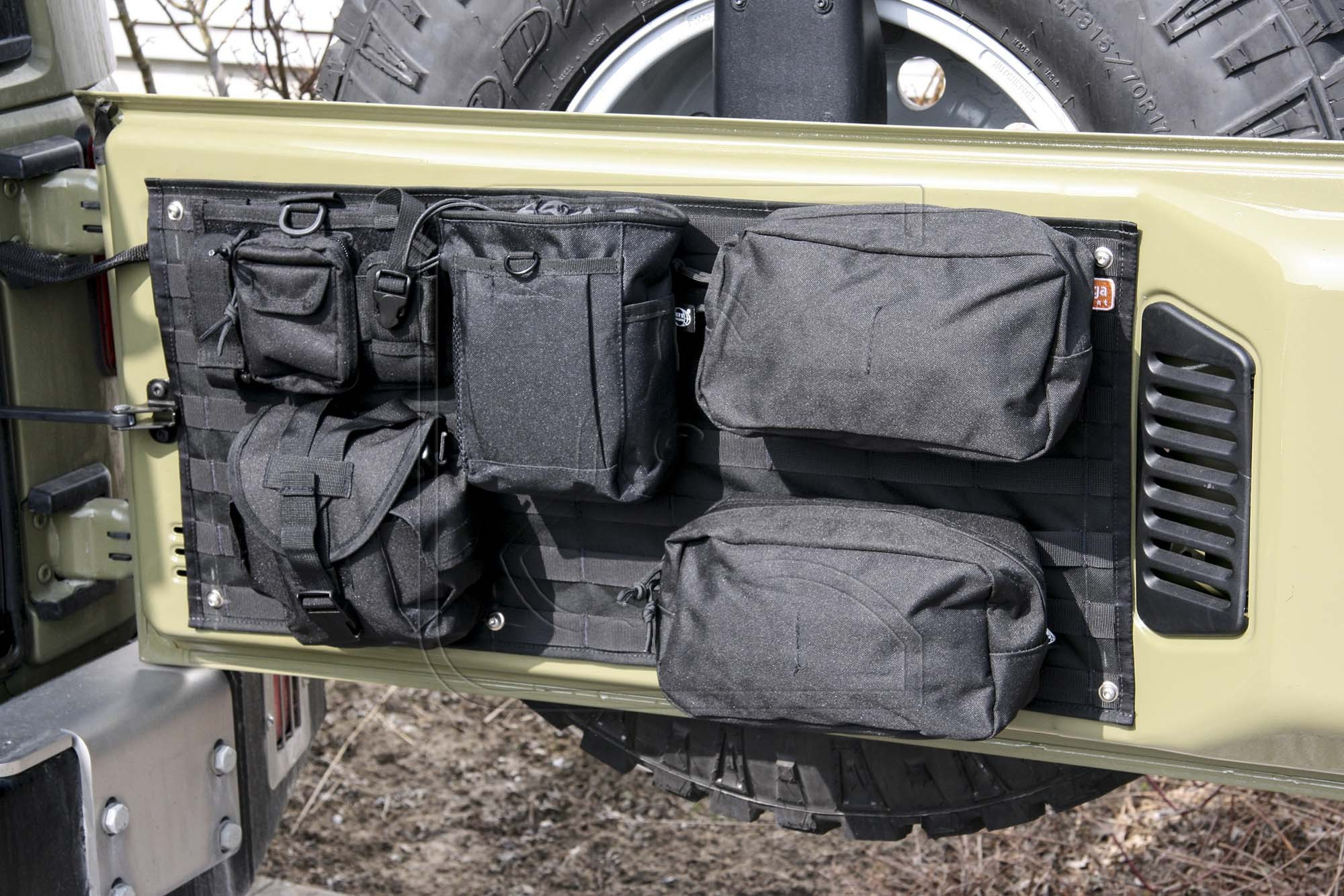 4x4 Outdoor Tuning Tailgate Organizer For Jeep Wrangler Jk