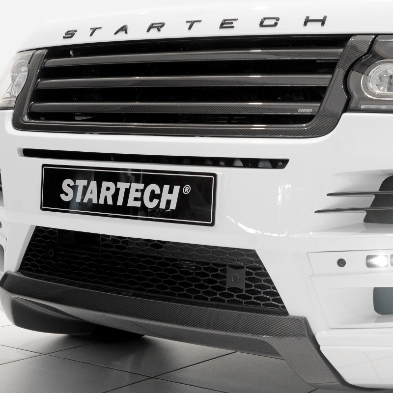 STARTECH Carbon grille, high-gloss finish for Range Rover from 2013