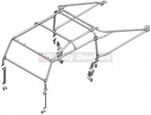 Safety Devices 6 point external Roll Cage, L260, for Land Rover Defender 130 high capacity Pick Up