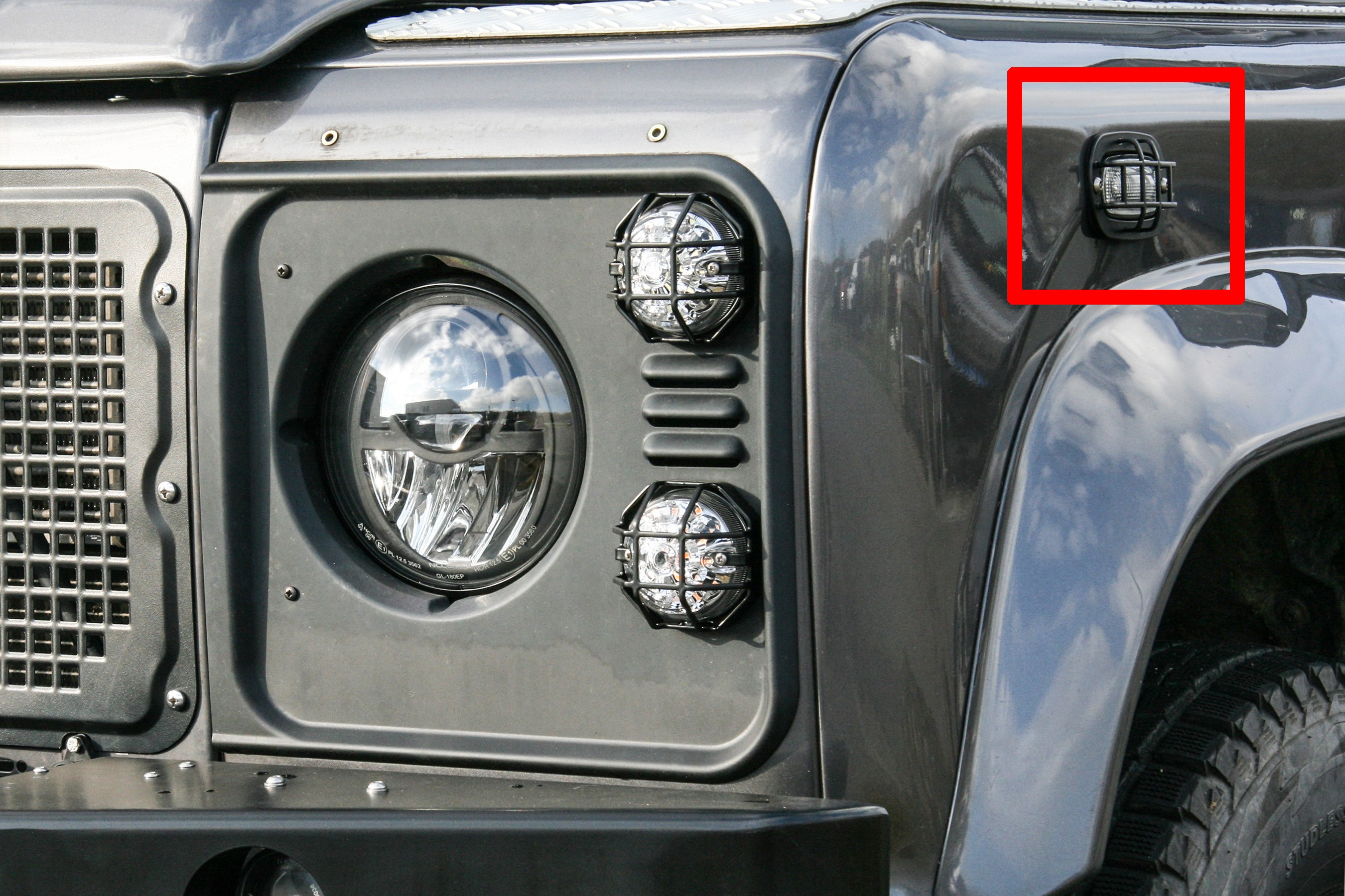 4x4 Outdoor Tuning Side Indicator Protection Type Q For