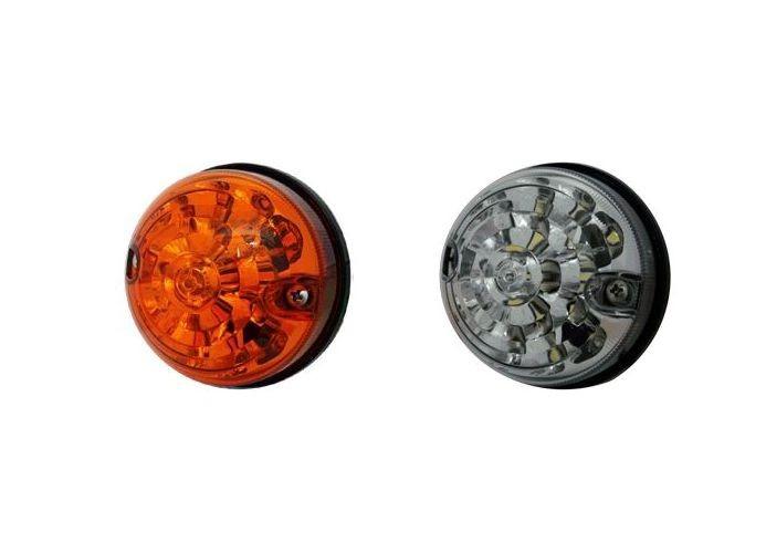 LED front blinker / indicator WHITE or ORANGE for Land Rover Defender