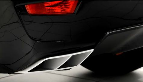 Startech rear bumper, for DS4 and Si4, with integrated exhaust tips and diffusor, for all Evoque models, exhaust tips with function, for vehicles applicable for tow-hook