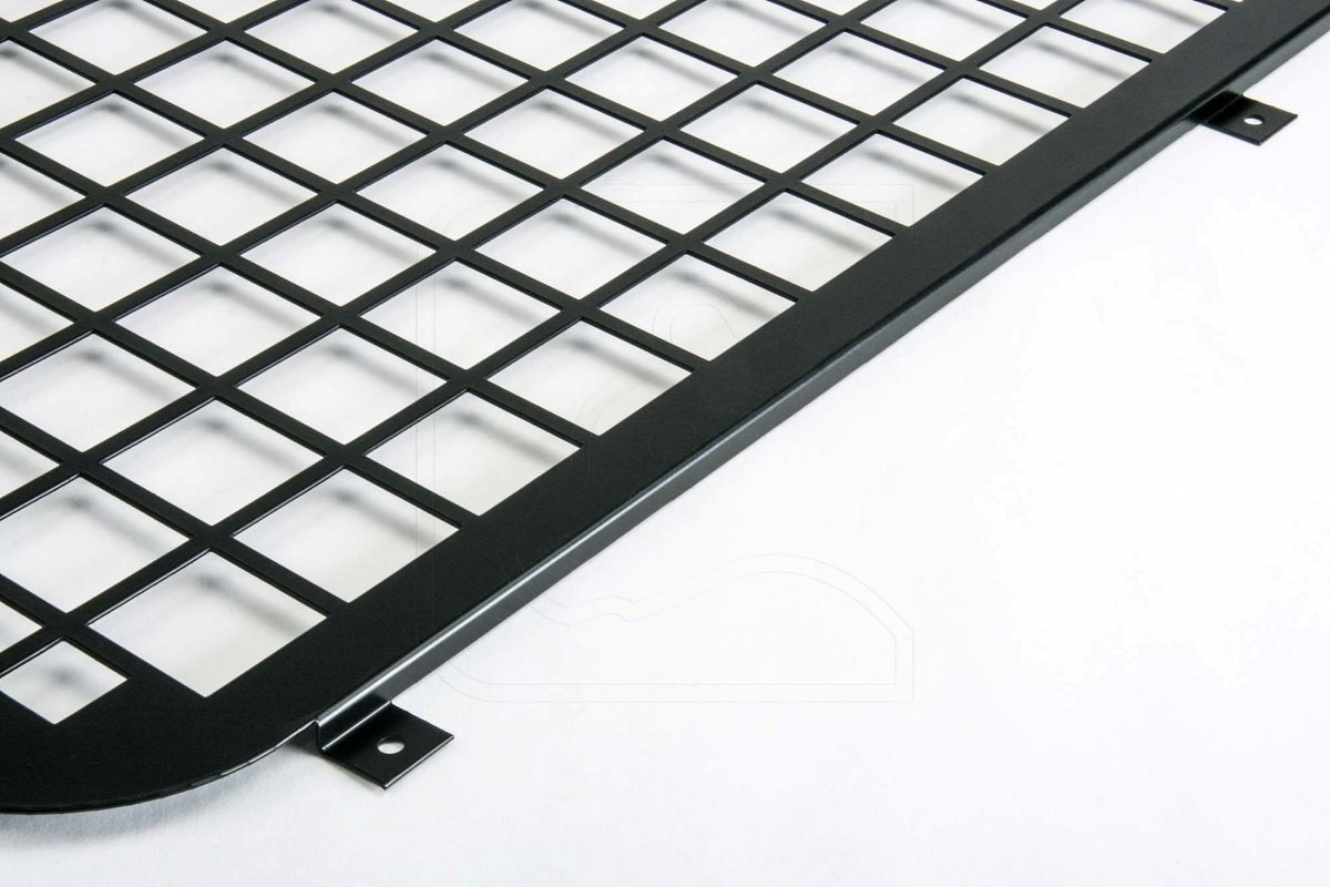 4x4 outdoor tuning aluminium side window guard black for Window guards
