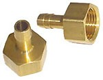 "Hose Nippel 1/2"" - OD 10mm Brass"
