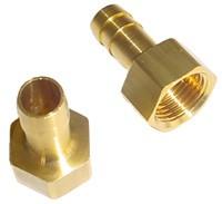 """Hose Nippel 1/2"""" - OD 13mm Brass"""