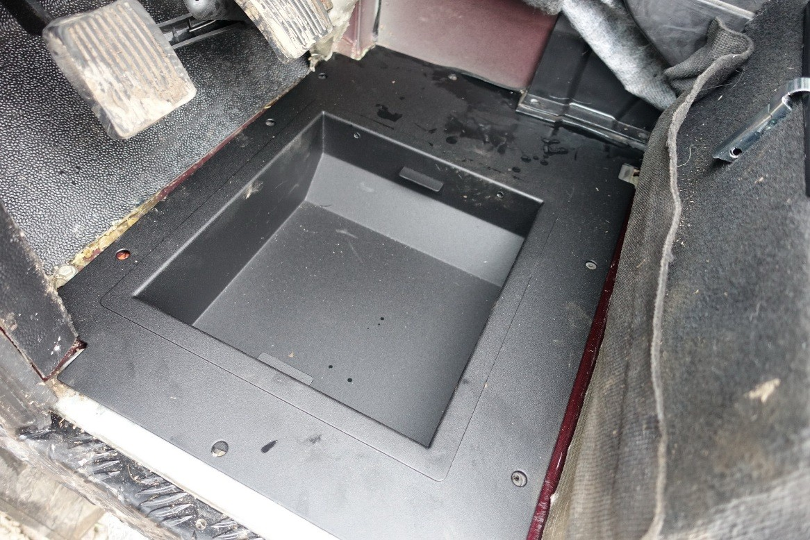 4x4 Outdoor Tuning Footwell Storage Box Land Rover