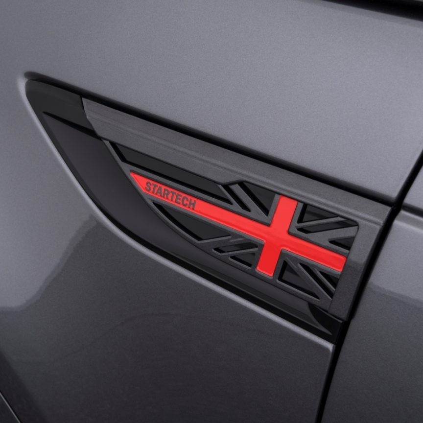 """STARTECH Fender insert """"Union Jack"""" for Discovery 5"""