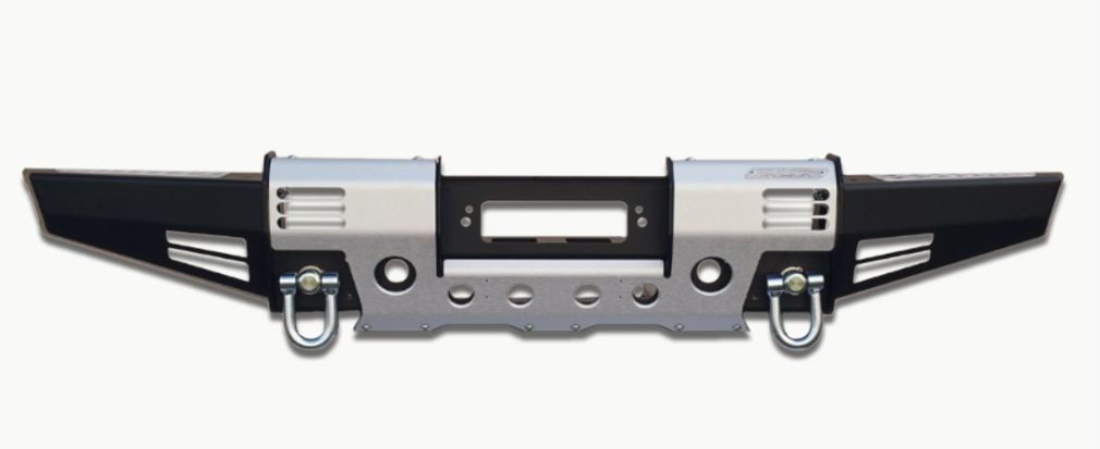 New modular winch bumper M17, with swivel recovery eyes for Land Rover Defender