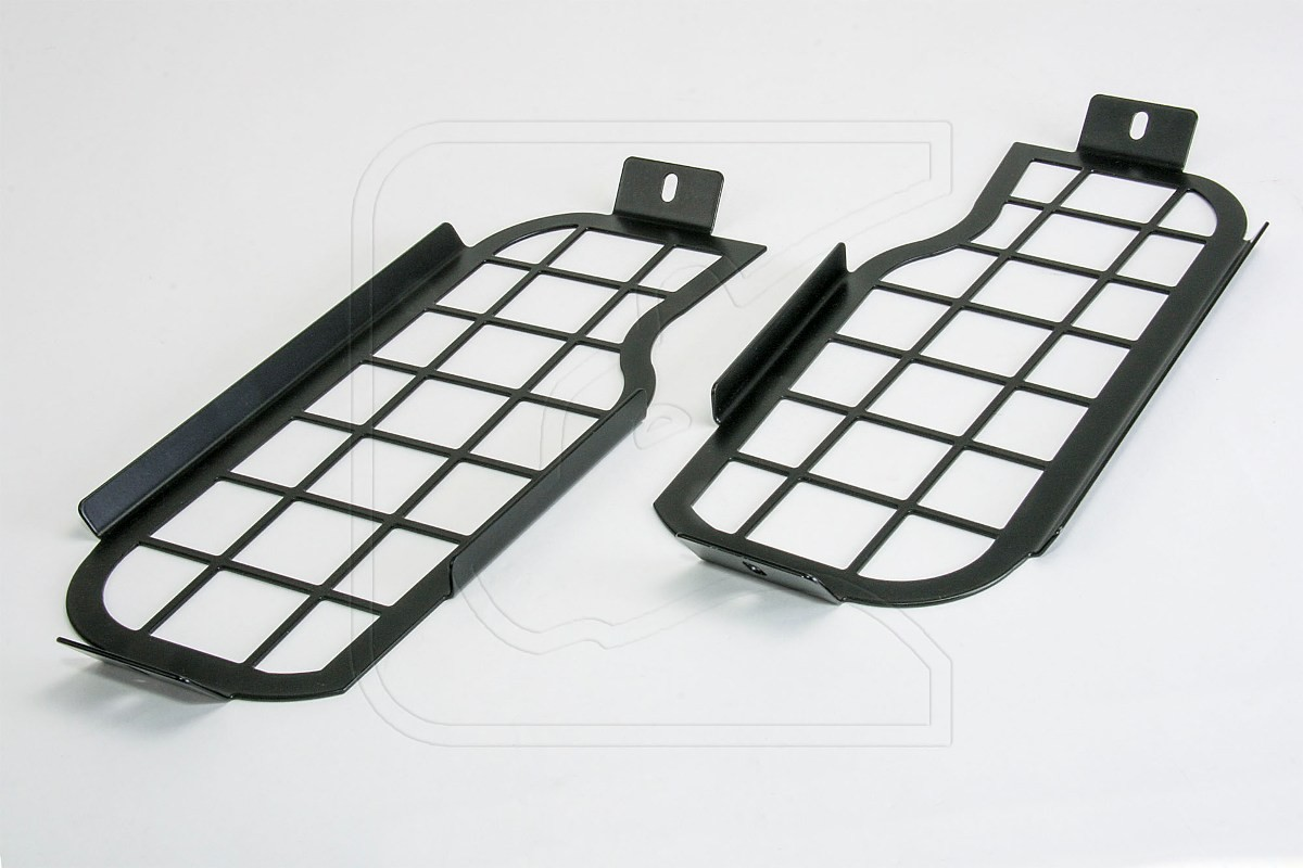 Stainless steel black Window guard for Land Rover Defender 90/110 rear end side windows