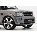 """Startech front Skirt attachment element, incl. LED daytime running lights """"Black Line"""", Discovery 4"""