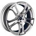"MONOSTAR R, 9 x 22"", single piece, silver, full polished, Discovery Sport"