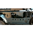 Set of door protection plates for Land Rover Defender 90