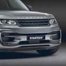 "STARTECH Front bumper ""1"", PUR R-RIM, incl. LED position/ daytime running lights and LED fog light, not for SVR, Range Rover Sport from 2014"