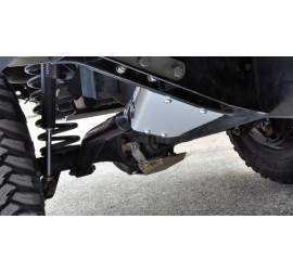 Protection Sliders for rear trailing arm mounts for Land Rover Defender 110