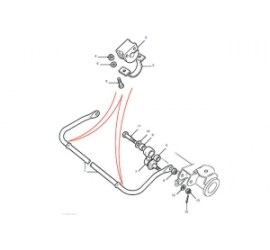 Upgraded sway bar Kit  for Defender without stabilizer