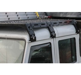 CargoBear modular roof rack for Defender 110 DC and 130 CC -  length 1545mm