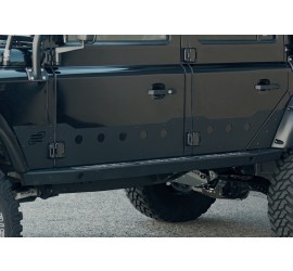 Set of door protection plates for Land Rover Defender 110