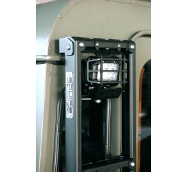 Rear ladder with LED lamp for Land Rover Defender 90/110