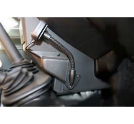 Gooseneck mounting bracket for HBC monitor or smart phone etc