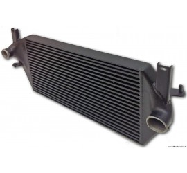 Defender Td5 and Td4 ( 2.4L & 2.2L) with or without A/C, High Performance Intercooler, black heat repellent coating