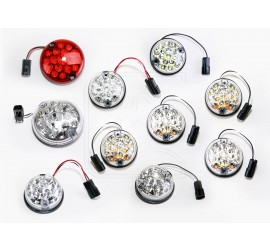 LED light set of 8 to 12 lights in WHITE or ORIGINAL colour for Land Rover Defender