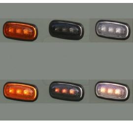 LED side indicator light for Defender, orange, black or white