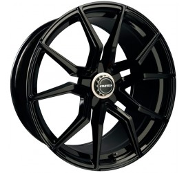 STARTECH Monostar M, 10 x 22″, black polished, only in combination with Widebody Kit for Range Rover Velar