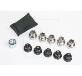 Lockable wheel nut set for alloy wheels Land Rover Defender 90/110/130