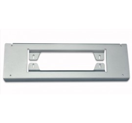 Number plate holder for basic and M17 front bumper for Land Rover Defender