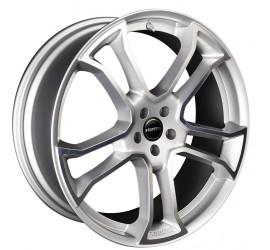 "Monostar R, 9J x 22"", single piece, silver, full polished, Range Rover Evoque"