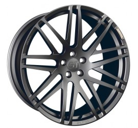 "STARTECH Monostar S, Cross-Spoke design, 11 x 23"", forged, ""Titan"" colour, only in combination with widebody-kit, not for vehicles with 3rd seat bench for Range Rover- from 2013, Sport from 2014"