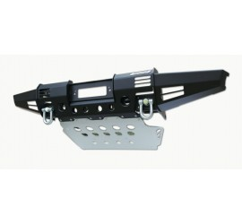 New modular winch bumper M17, with swivel recovery eyes and steering guard for Land Rover Defender
