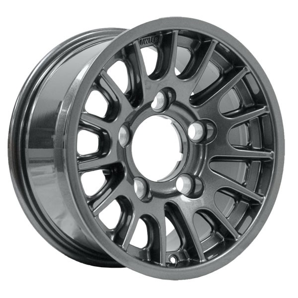 "Bowler alloy wheel  7.5"" x 16"" Anthracite"