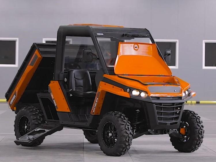 Corvus Terrain DX4 PRO EPS - UTV ATV Side By Side, Diesel