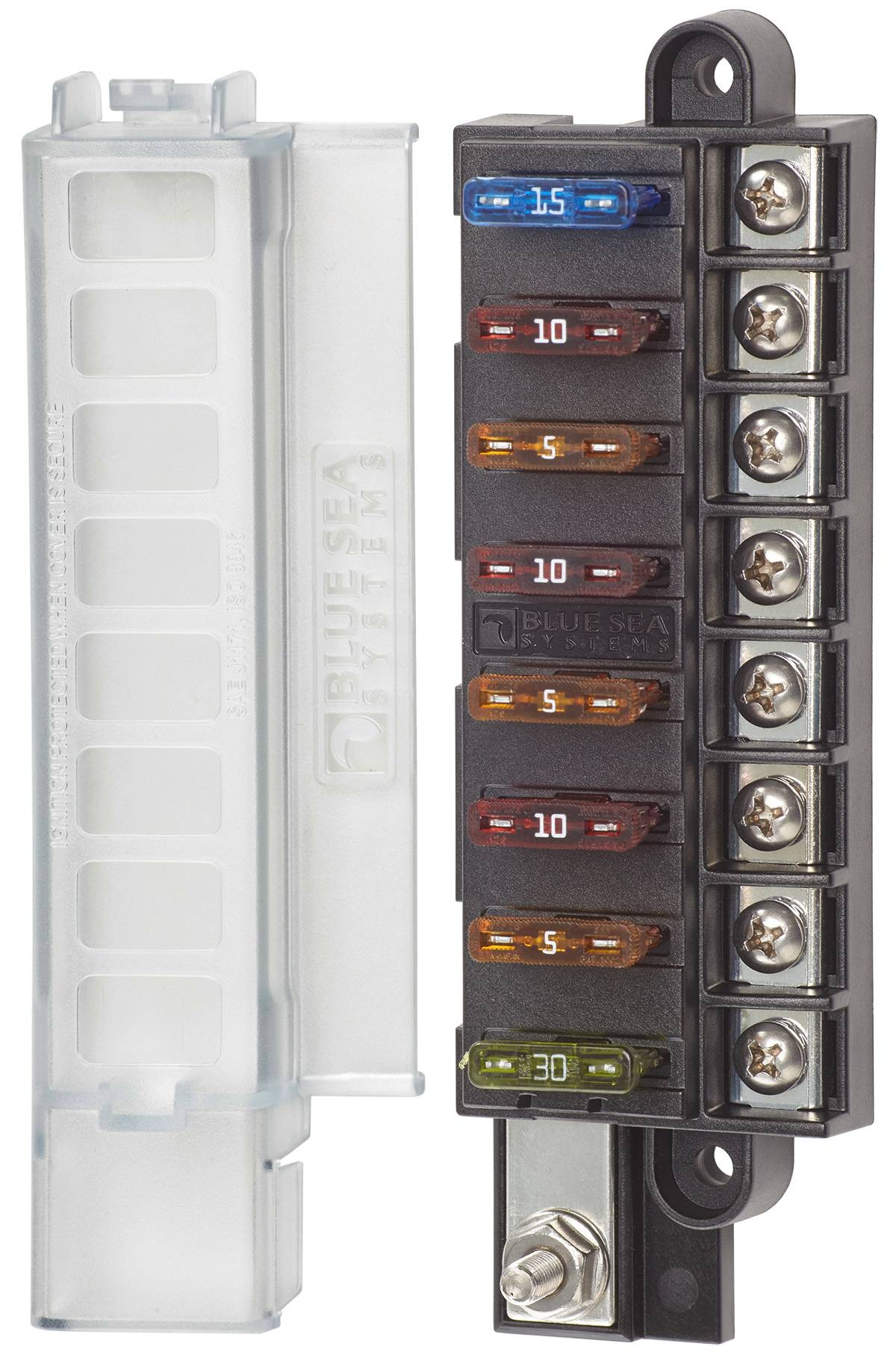 4x4 Outdoor Tuning    Bluesea Fuse Box With Cover For 8
