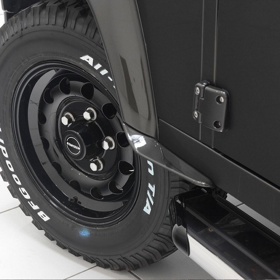 Dirt D-Fenders for Land Rover Defender 90/110/130