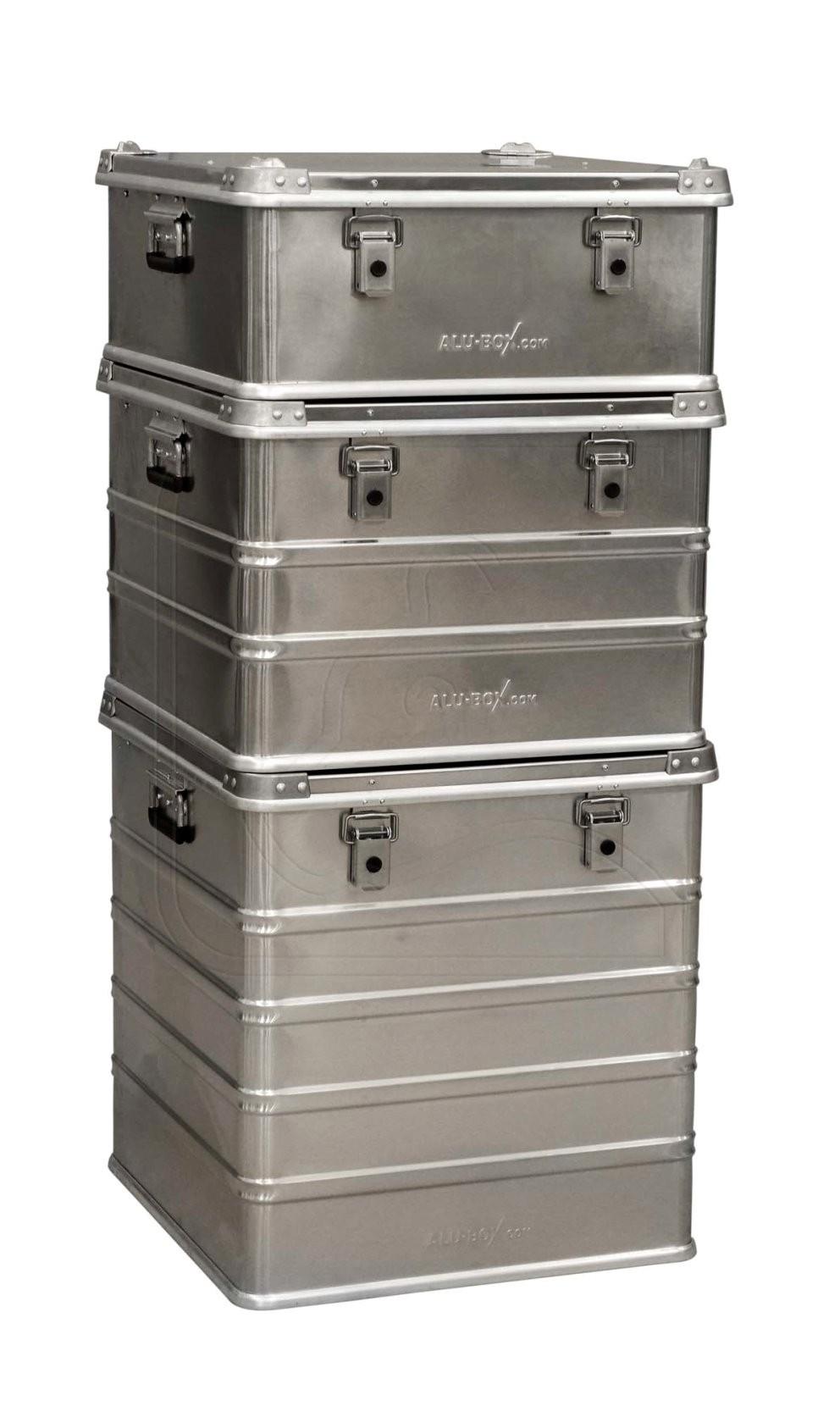 AluBox Pro Aluminium storage box 115 Litre