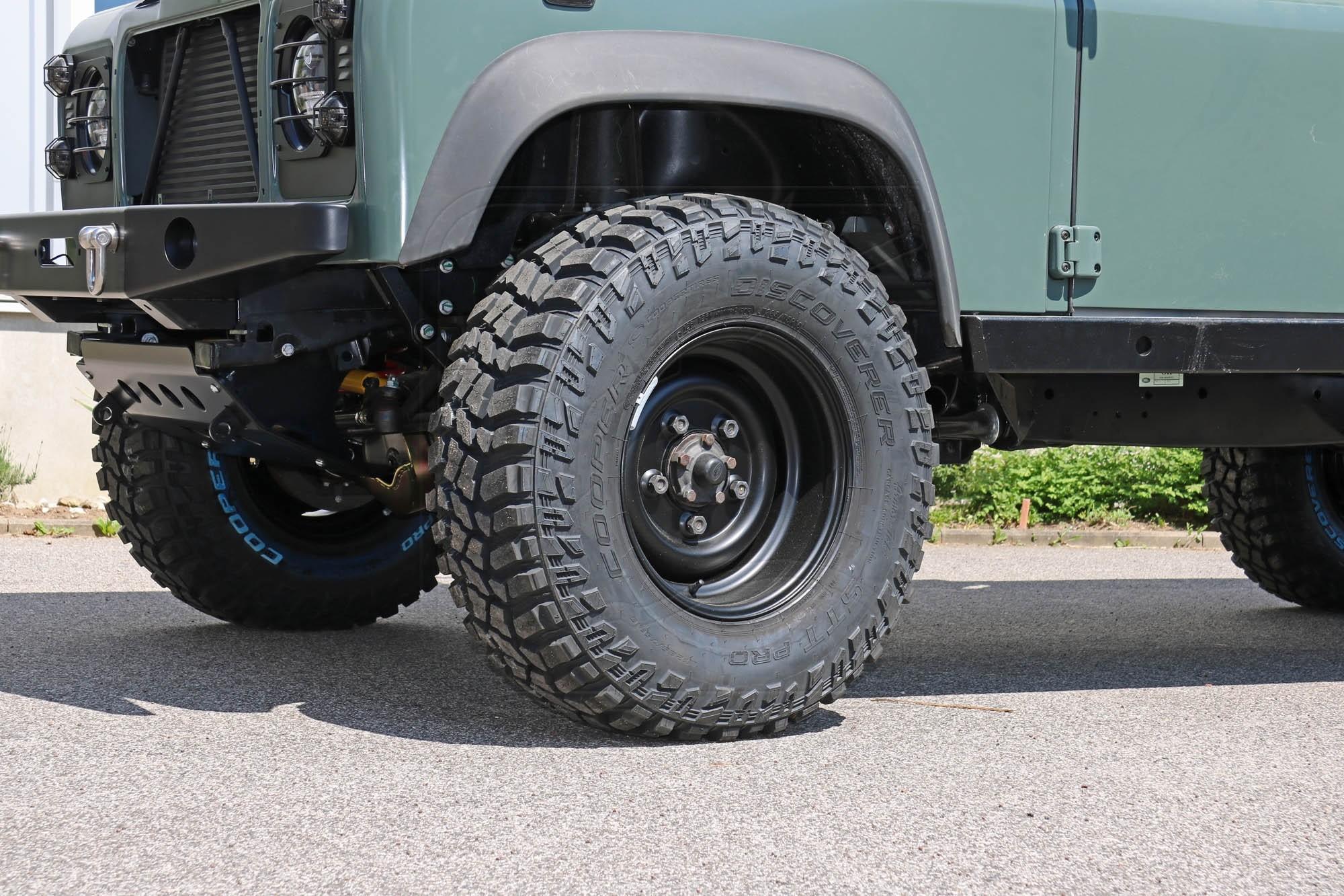 "Nakatanenga ANR CLASSIC Steel wheel 8x16"" for Land Rover Defender"