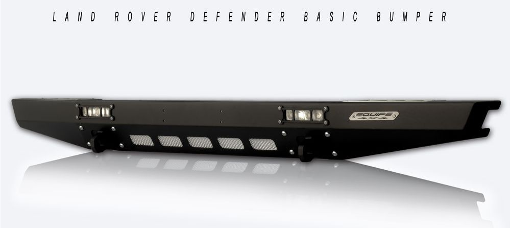 Basic front bumper for Land Rover Defender