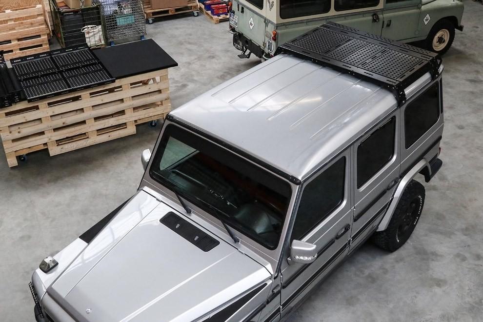 CargoBear 2.0 modular roof rack short 942 mm for Mercedes G